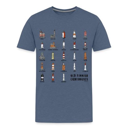 SUOMEN MAJAKKA Paidat, tekstiilit ja lahjatuotteet - Teinien premium t-paita