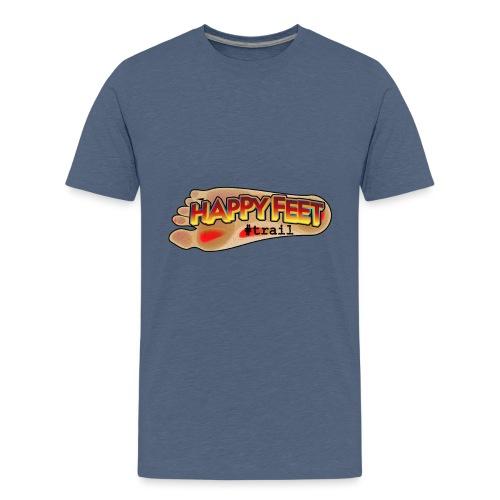 Happy Feet, spécial trail - T-shirt Premium Ado