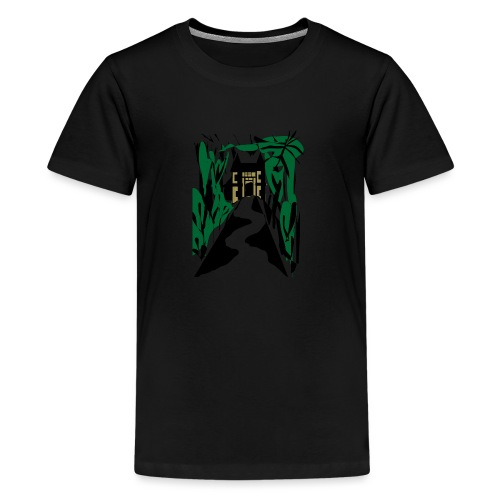 HALLOWEEN SPOOKY HAUNTED MANSION 2017 - Teenager Premium T-Shirt
