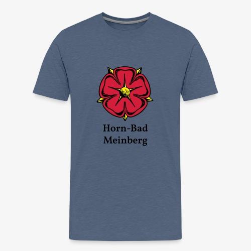 Lippische Rose mit Unterschrift Horn-Bad Meinberg - Teenager Premium T-Shirt