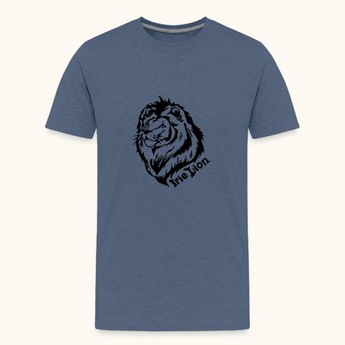 Irie Lion - Lion Rastafari - T-shirt Premium Ado