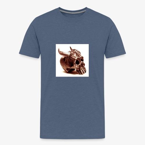 Imagen representativa de Sócrates y el Demonio - Camiseta premium adolescente