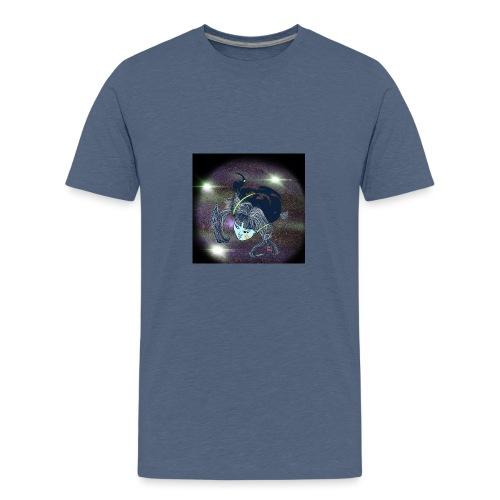 the Star Child - Teenage Premium T-Shirt