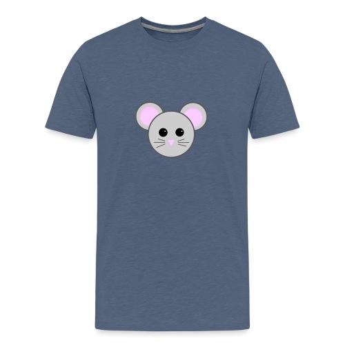 Cutie Mouse - Teenage Premium T-Shirt