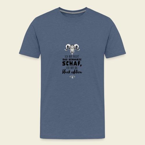 Schwarzes Schaf - white edition - Teenager Premium T-Shirt