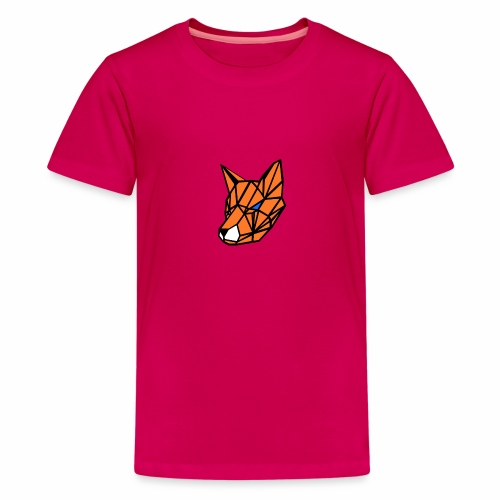 renard geometrique - T-shirt Premium Ado