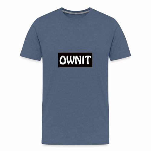 OWNIT logo - Teenage Premium T-Shirt