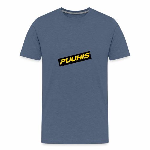 Puuhis verkkokauppa - Teinien premium t-paita