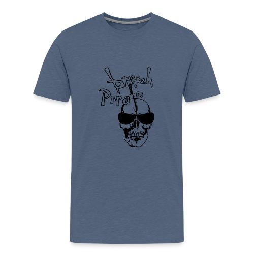 breizh pirate poignard tete de mort crane - T-shirt Premium Ado