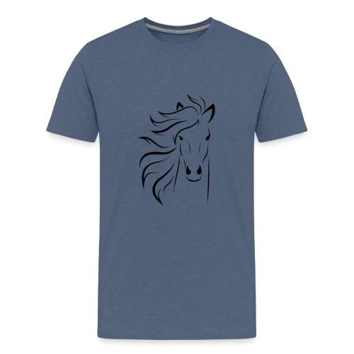 cheval - T-shirt Premium Ado