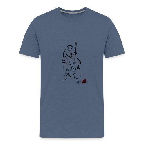CONTRABBASSISTA - Maglietta Premium per ragazzi