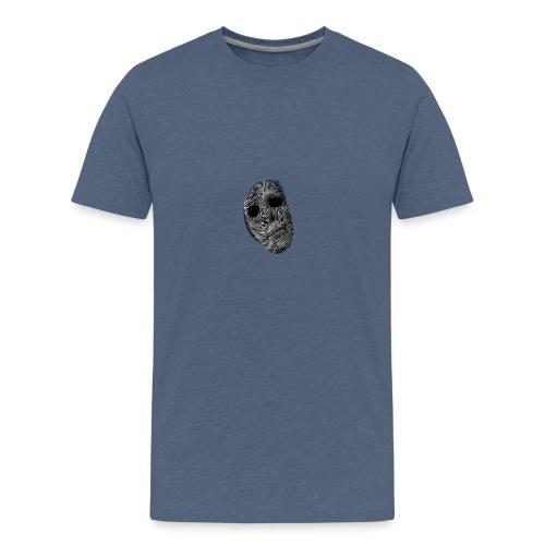Paranormal Forensics Logo - Teenage Premium T-Shirt