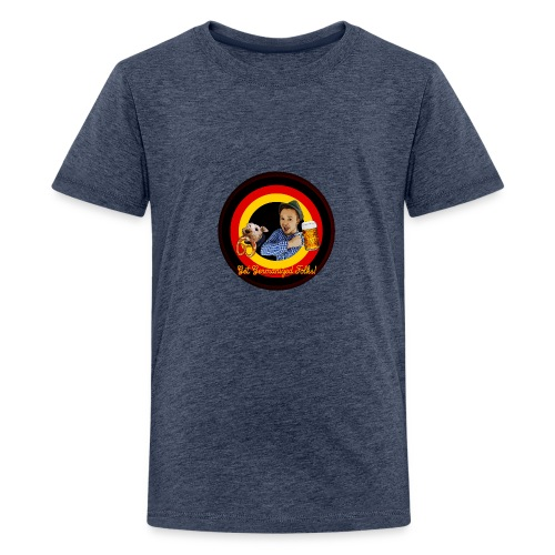 Get Germanized Looney - Teenager Premium T-Shirt