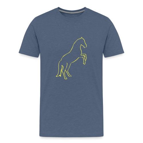 Steigendes Pferd - Teenager Premium T-Shirt