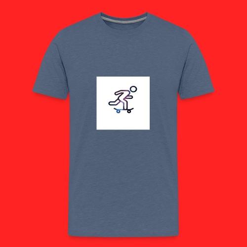galaxy skate - T-shirt Premium Ado