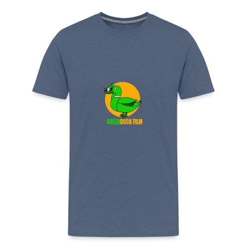 Greenduck Film Golden Sun Logo - Teenager premium T-shirt