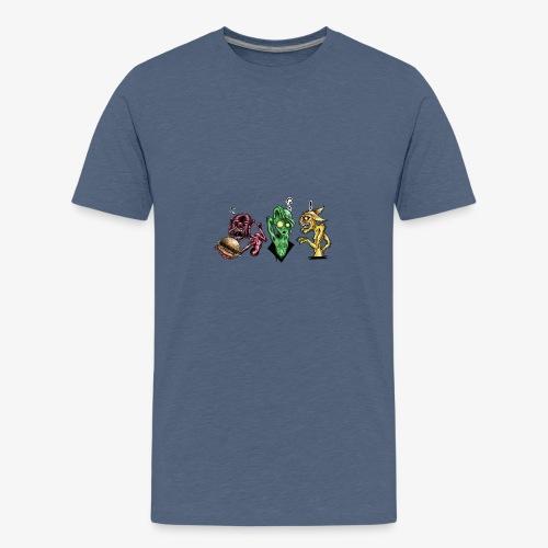 Weird communication - T-shirt Premium Ado