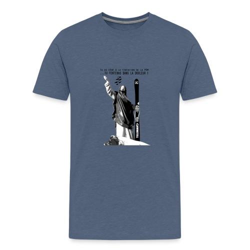 2017 Jesus Telemark - T-shirt Premium Ado