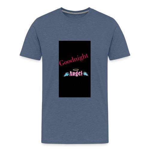 goodnight Angel Snapchat - Teenage Premium T-Shirt
