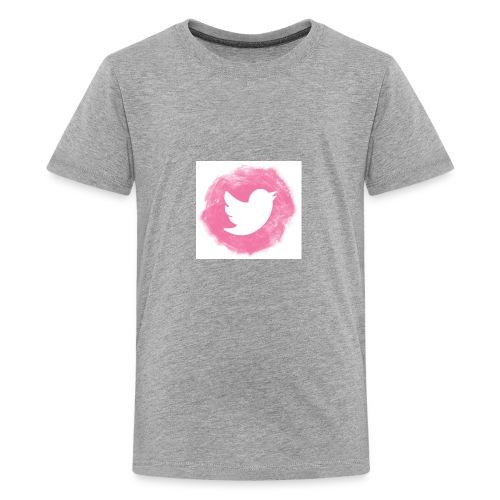 pink twitt - Teenage Premium T-Shirt