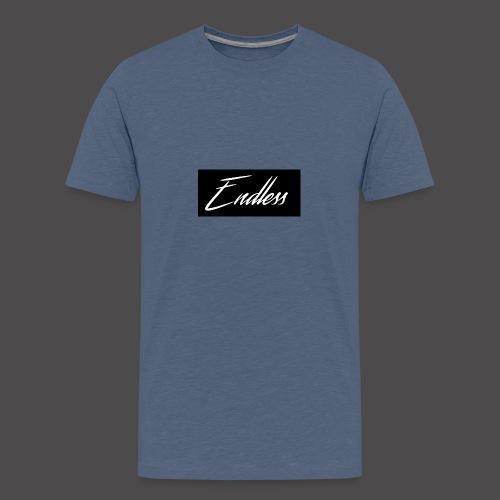 Endless Black - Teenager Premium T-Shirt
