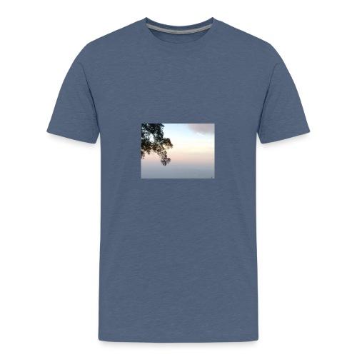 paisaje divivo - Camiseta premium adolescente
