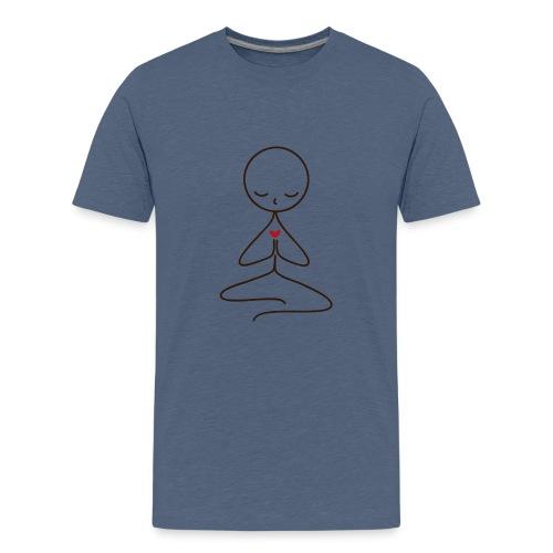 Peace & Love - Premium-T-shirt tonåring
