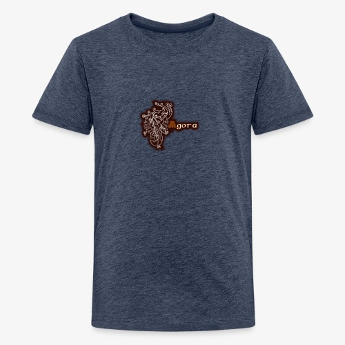 Agora Logo - Teenage Premium T-Shirt