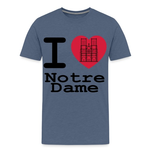 I love Notre Dame - Teenager Premium T-shirt