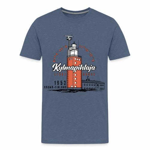 Finnish Lighthouse KYLMÄPIHLAJA Textiles, and Gift - Teinien premium t-paita