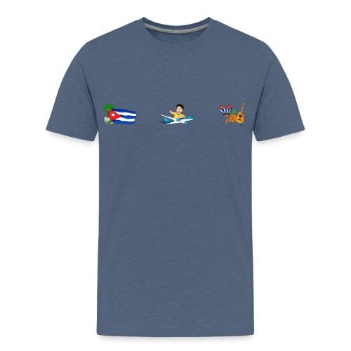 Cuba Premium - Viaja con Yoel - Camiseta premium adolescente