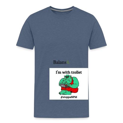 skolinkvisitionen - Premium-T-shirt tonåring