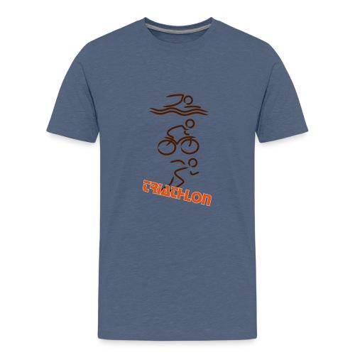 Triathlon - Teenager Premium T-Shirt