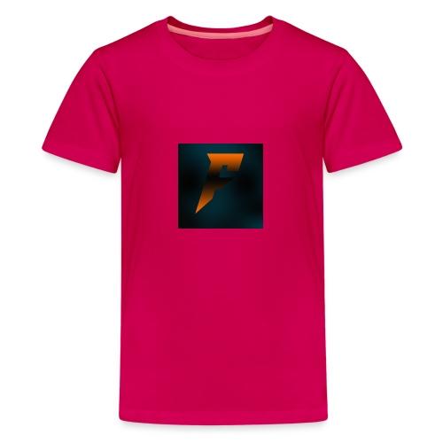 YoutubeLogo - Teinien premium t-paita