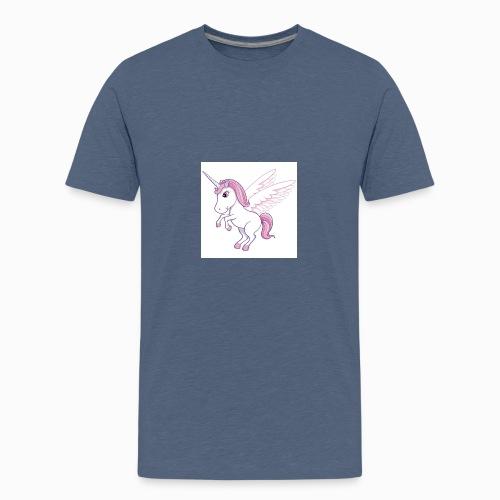 Petite licorne rose super mignonne!! - T-shirt Premium Ado