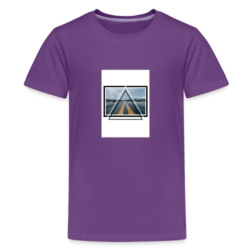 On the Road - T-shirt Premium Ado