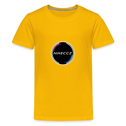 NHECCZ Logo Collection - Teenage Premium T-Shirt