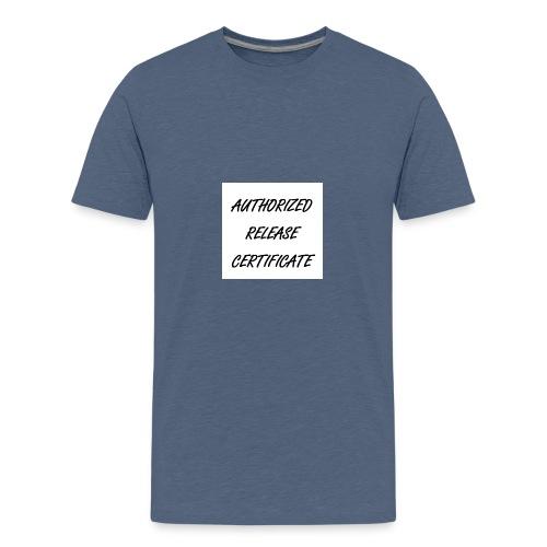 Certificate - Teenager Premium T-Shirt