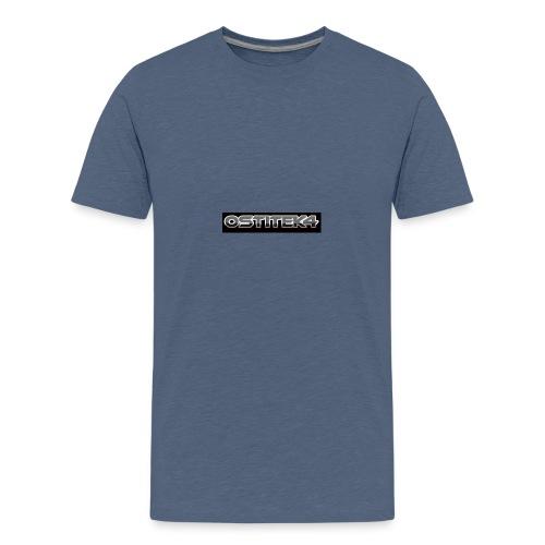 awesome font - Teenage Premium T-Shirt