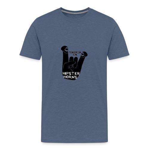 8 Hipster Horns - Teenager Premium T-Shirt