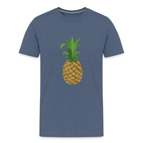 Dots Ananas - Teenager Premium T-Shirt