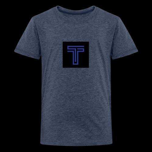 YT logo design - Teenage Premium T-Shirt