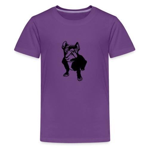french bulldogge - Teenager Premium T-Shirt