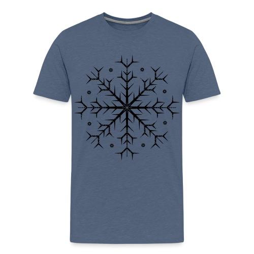 Flocon noir - T-shirt Premium Ado