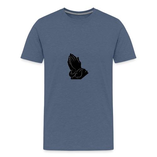 Pray logo - Teenager Premium T-Shirt