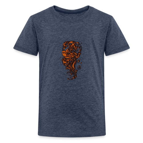 Perro café - Camiseta premium adolescente