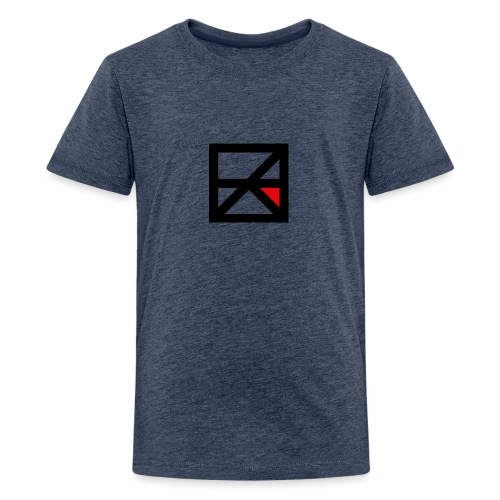 ZERO Beeldmerk png video - Teenager Premium T-shirt
