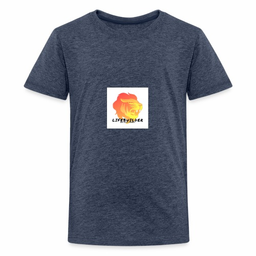 Lifebuilder Löwe - Teenager Premium T-Shirt