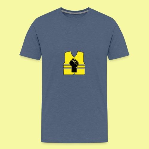 logo gilet poing - T-shirt Premium Ado