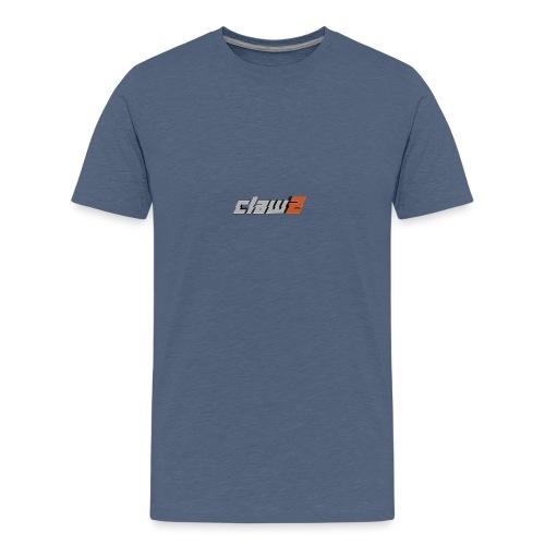 ClawZ Logo - Premium-T-shirt tonåring